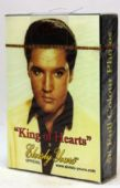 Elvis Presley - 'King of Hearts' Playing Cards